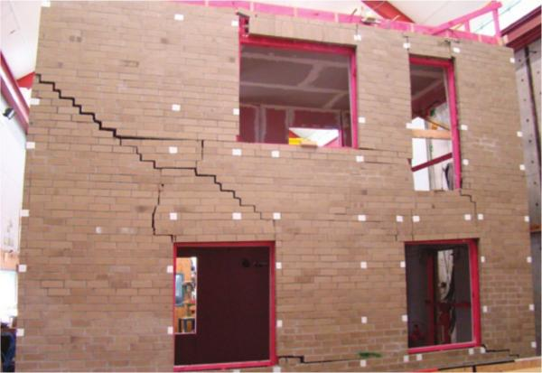 Wall claddings residential seismic resilience for Modern brick veneer